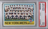 New York Mets Team, Joe Frazier [PSA9]
