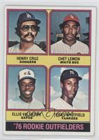 Henry Cruz, Chet Lemon, Ellis Valentine, Terry Whitfield [GoodtoVG&…