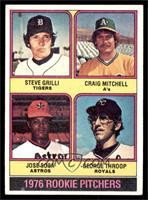 Steve Grilli, Craig Mitchell, Jose Sosa, George Throop [EX]