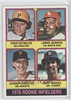 Craig Reynolds, Lamar Johnson, Johnnie LeMaster, Jerry Manuel [Good to&nbs…