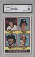 1976 Rookie Pitchers (Rob Dressler, Ron Guidry, Bob McClure, Pat Zachry) [ENCAS…