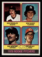 1976 Rookie Pitchers (Rob Dressler, Ron Guidry, Bob McClure, Pat Zachry) [NM&nb…