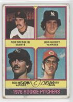 1976 Rookie Pitchers (Rob Dressler, Ron Guidry, Bob McClure, Pat Zachry) [Poor]