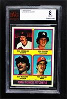 1976 Rookie Pitchers (Rob Dressler, Ron Guidry, Bob McClure, Pat Zachry) [BVG&n…