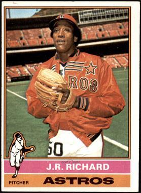 1976 Topps - [Base] #625 - J.R. Richard [VGEX]