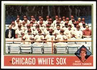 Chicago White Sox Team, Chuck Tanner [VG+]