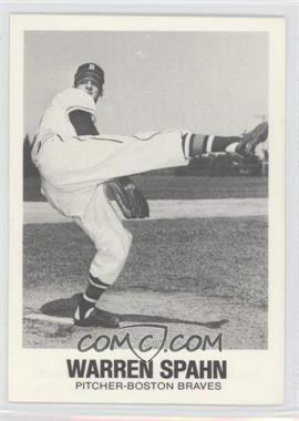 1977-84 TCMA Renata Galasso - [Base] #38 - Warren Spahn