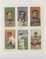 Johnny Evers, Ed Plank, Honus Wagner, Nap Rucker, John McGraw, Fred Clarke