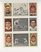 Hughie Jennings, Ty Cobb, Rube Marquard, Chief Meyers, Jason Delaney, David Jon…