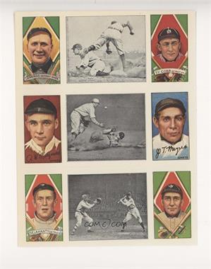 1977 Dover Classic Baseball Cards Reprints - [Base] - Panels #JCMMDJ - Hughie Jennings, Ty Cobb, Rube Marquard, Chief Meyers, Jason Delaney, David Jones