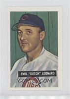Dutch Leonard (1951 Bowman)