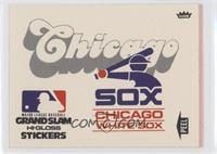 Chicago White Sox (White Background)