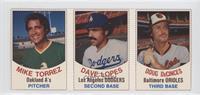 Mike Torrez, Dave Lopes, Doug DeCinces