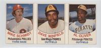 Mike Schmidt, Dave Winfield, Al Oliver [GoodtoVG‑EX]