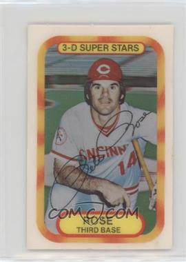 1977 Kellogg's 3-D Super Stars - [Base] #20 - Pete Rose - Courtesy of COMC.com