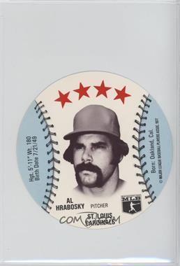 1977 MSA Discs - [Base] - Detroit Caesars Slo-Pitch #ALHR - Al Hrabosky