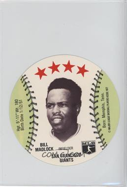 1977 MSA Discs - [Base] - Detroit Caesars Slo-Pitch #BIMA - Bill Madlock