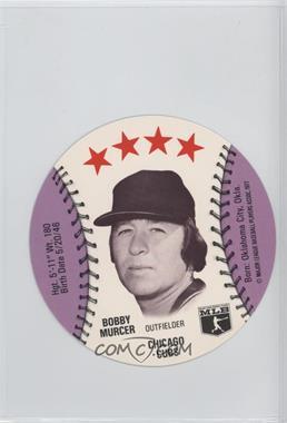 1977 MSA Discs - [Base] - Detroit Caesars Slo-Pitch #BOMU - Bobby Murcer