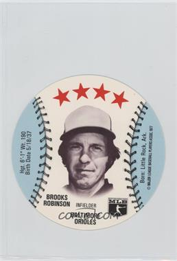 1977 MSA Discs - [Base] - Detroit Caesars Slo-Pitch #BRRO - Brooks Robinson