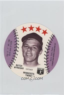 1977 MSA Discs - [Base] - Detroit Caesars Slo-Pitch #BUWY - Butch Wynegar