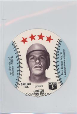 1977 MSA Discs - [Base] - Detroit Caesars Slo-Pitch #CAFI - Carlton Fisk