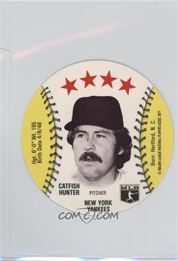 1977 MSA Discs - [Base] - Detroit Caesars Slo-Pitch #CAHU - Catfish Hunter