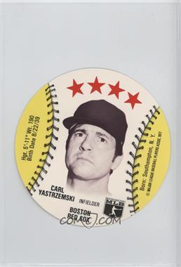 1977 MSA Discs - [Base] - Detroit Caesars Slo-Pitch #CAYA - Carl Yastrzemski
