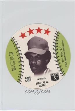 1977 MSA Discs - [Base] - Detroit Caesars Slo-Pitch #DACA - Dave Cash