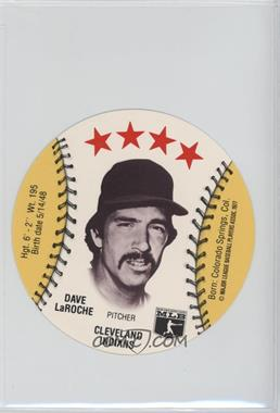 1977 MSA Discs - [Base] - Detroit Caesars Slo-Pitch #DALA - Dave LaRoche