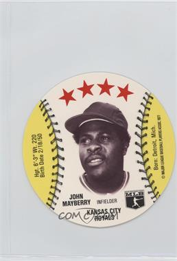 1977 MSA Discs - [Base] - Detroit Caesars Slo-Pitch #JOMA.2 - John Mayberry