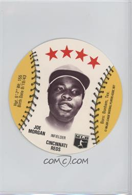 1977 MSA Discs - [Base] - Detroit Caesars Slo-Pitch #JOMO.2 - Joe Morgan