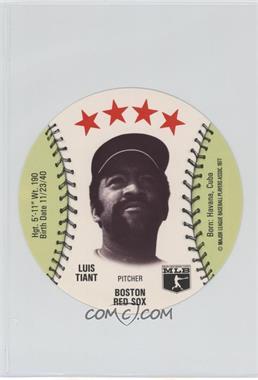 1977 MSA Discs - [Base] - Detroit Caesars Slo-Pitch #LUTI - Luis Tiant