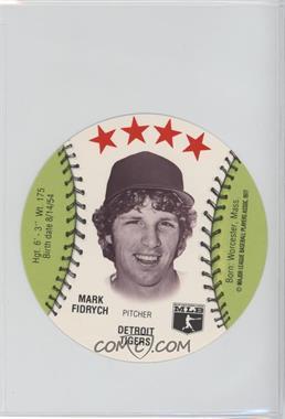 1977 MSA Discs - [Base] - Detroit Caesars Slo-Pitch #MAFI - Mark Fidrych
