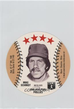 1977 MSA Discs - [Base] - Detroit Caesars Slo-Pitch #MISC - Mike Schmidt