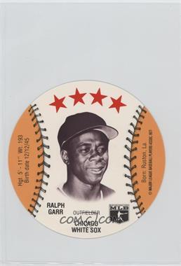 1977 MSA Discs - [Base] - Detroit Caesars Slo-Pitch #RAGA - Ralph Garr