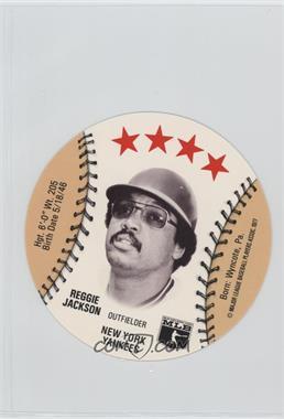 1977 MSA Discs - [Base] - Detroit Caesars Slo-Pitch #REJA - Reggie Jackson