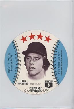 1977 MSA Discs - [Base] - Detroit Caesars Slo-Pitch #RIMA - Rick Manning