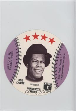 1977 MSA Discs - [Base] - Detroit Caesars Slo-Pitch #ROCA - Rod Carew