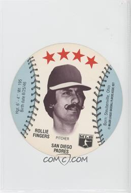 1977 MSA Discs - [Base] - Detroit Caesars Slo-Pitch #ROFI - Rollie Fingers
