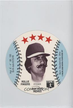 1977 MSA Discs - [Base] - Detroit Caesars Slo-Pitch #ROFI - Rollie Fingers