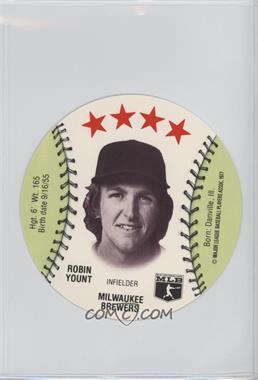 1977 MSA Discs - [Base] - Detroit Caesars Slo-Pitch #ROYO - Robin Yount