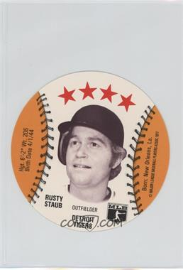 1977 MSA Discs - [Base] - Detroit Caesars Slo-Pitch #RUST - Rusty Staub