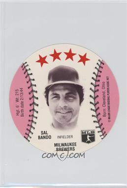 1977 MSA Discs - [Base] - Detroit Caesars Slo-Pitch #SABA - Sal Bando