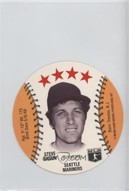 1977 MSA Discs - [Base] - Detroit Caesars Slo-Pitch #STBR - Steve Braun