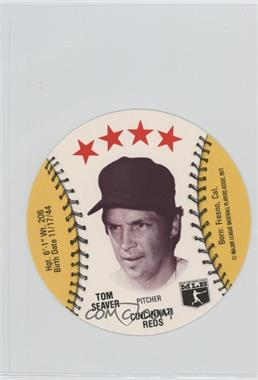1977 MSA Discs - [Base] - Detroit Caesars Slo-Pitch #TOSE - Tom Seaver