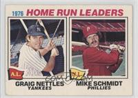 1976 Home Run Leaders (Graig Nettles, Mike Schmidt)