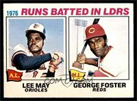 George Foster, Lee May [EX]