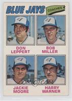 Harry Warner, Don Leppert, Bob Miller, Jackie Moore
