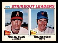 Nolan Ryan, Tom Seaver [VG EX]