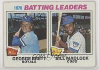 1976 Batting Leaders - George Brett, Bill Madlock [PoortoFair]